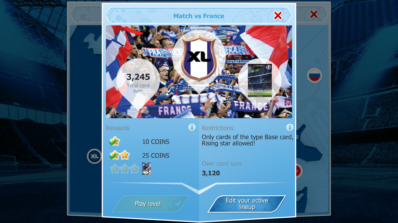 Neopoly Panini Adrenalyn Xl Uefa Euro 2016 Official Trading Cards Mobile App