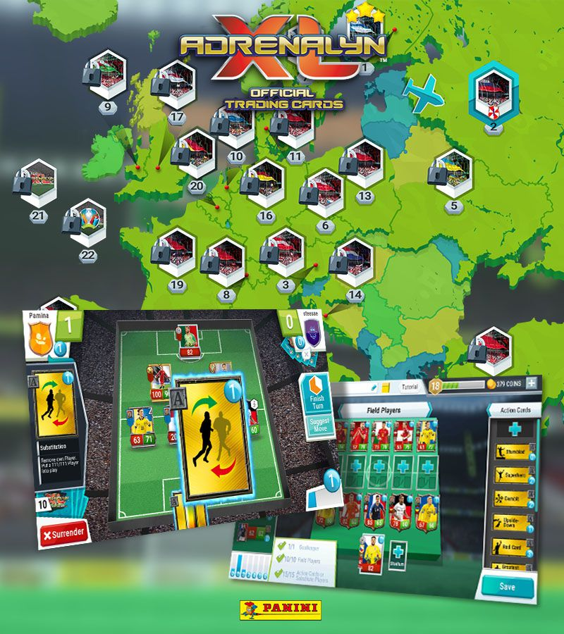 Panini Adrenalyn XL™ UEFA EURO 2020®
