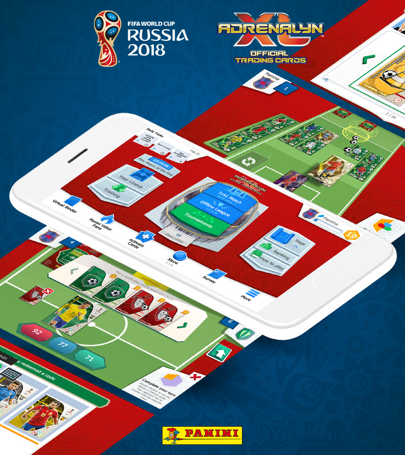Panini AdrenalynXL FIFA Worldcup 2018® Mobile Game