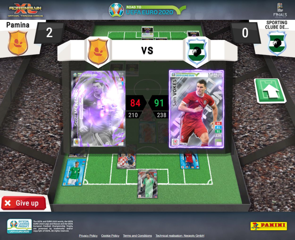 Calendrier De Match Euro 2020.Neopoly Panini Adrenalyn Xl Road To Uefa Euro 2020