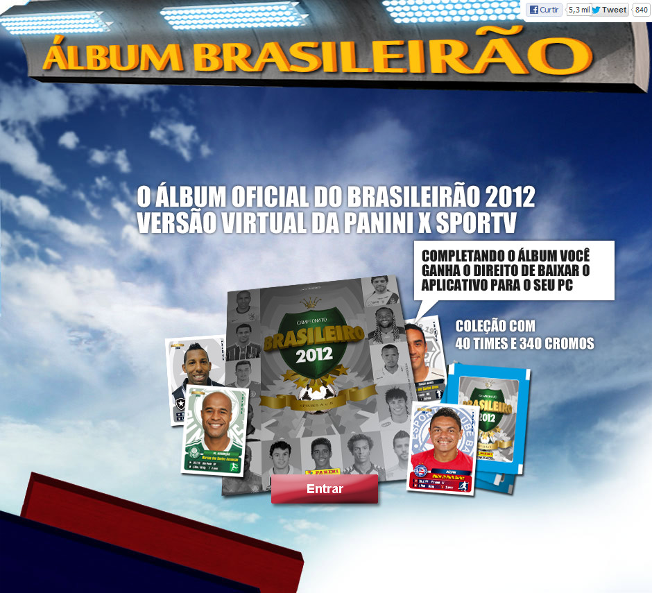 Campeonato Brasileiro Key Missing Players: Panini Virtual Sticker Album Campeonato