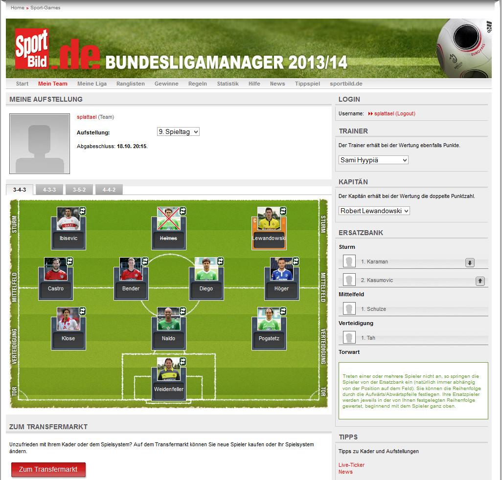 Sportbild Manager